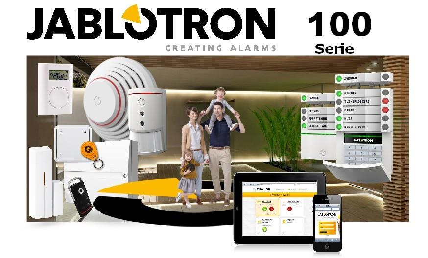 EZS alarm Jablotron 100 prodej, montáž, servis