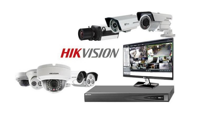 Instalace a prodej profesionálních kamer Hikwision